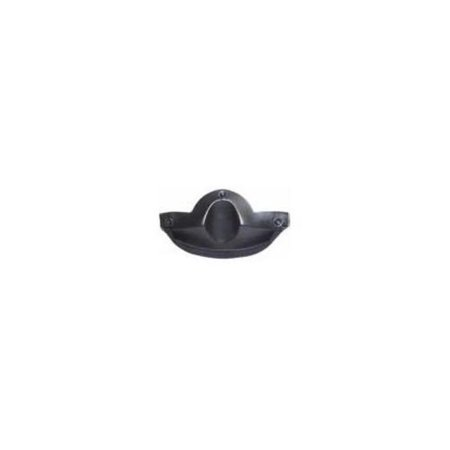 Zox 86-96059 Flip-Up Chip Gaurd Spoiler for Nevado/Hi-Quest/Genisis Helmets ()