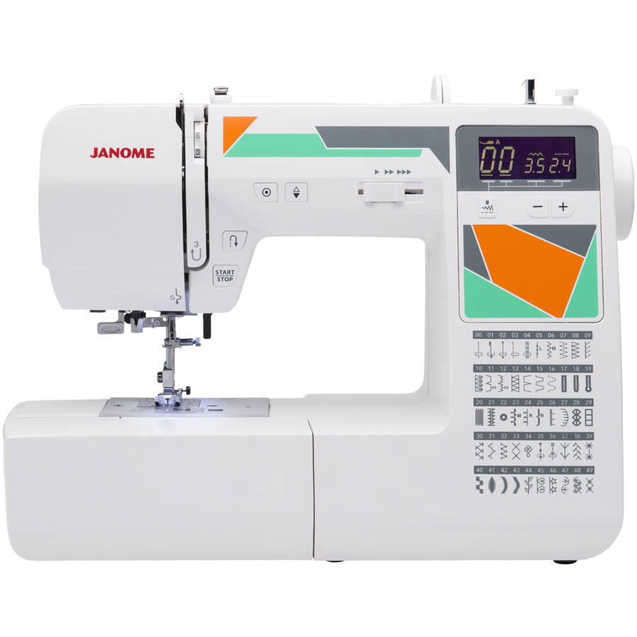 Janome MOD-50 50-Stitch Computerized Sewing Machine