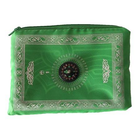 d4652abd90ae Eid mubarak Muslim Prayer Rug Mat IslamicPocket Travel Blanket with ...
