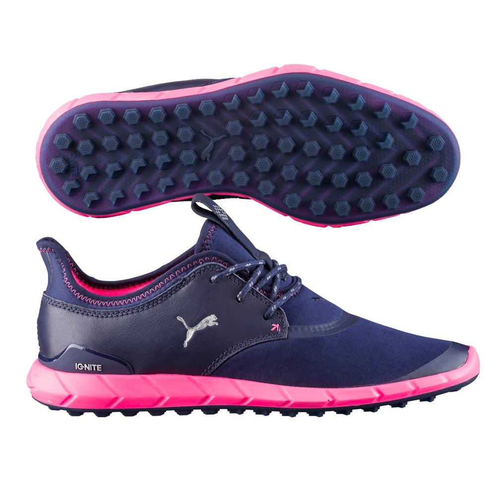 Puma 2017 Ignite Spikeless Sport Women's Golf Shoes (Peacoat)