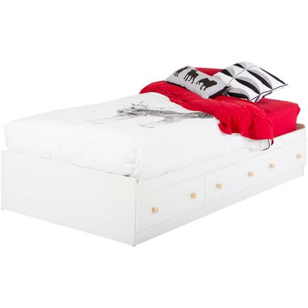South Shore Summertime Twin Storage Bed with 6