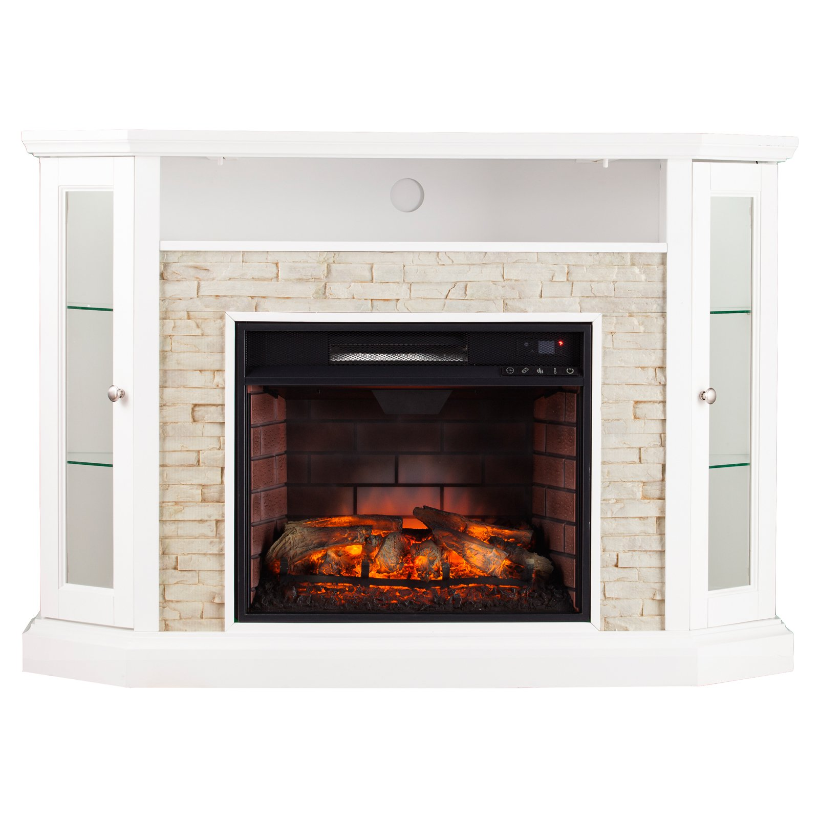Southern Enterprises Redden Infrared Electric Media Fireplace