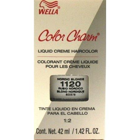 Wella Color Charm Liquid 1120 Nordic Blonde Haircolor Case Of 6