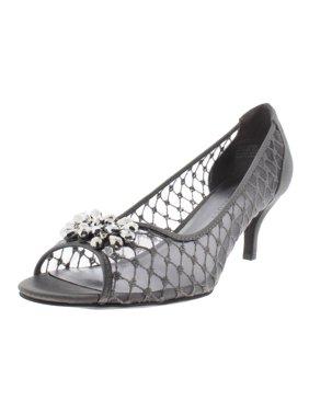 445dfce47 Product Image Karen Scott Womens Maralyn Embellished Rhinestone Open-Toe  Heels