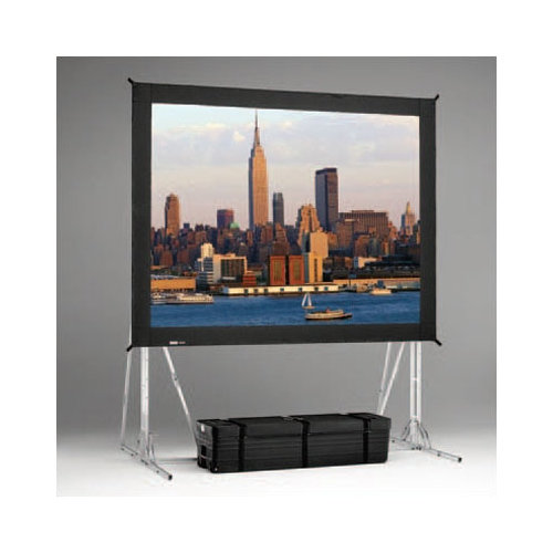 Da-Lite Fast Fold Black Portable Projection Screen