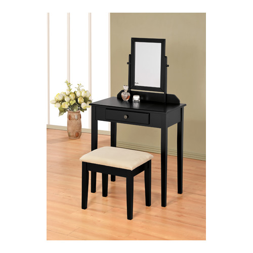 Wildon Home  Contemporary Vanity Set with Mirror