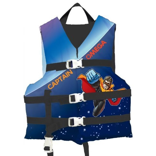 Flowt 40223-INFCLD All Purpose Character Life Vest, Infant Child (Captain Omega) by Waterbrands