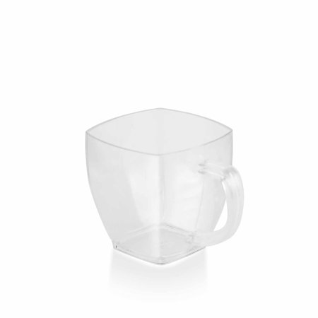 BalsaCircle Clear 8 pcs 5 oz Disposable Plastic Drink Cups Glasses - Wedding Reception Party Buffet Catering Tableware - Wedding Drinks