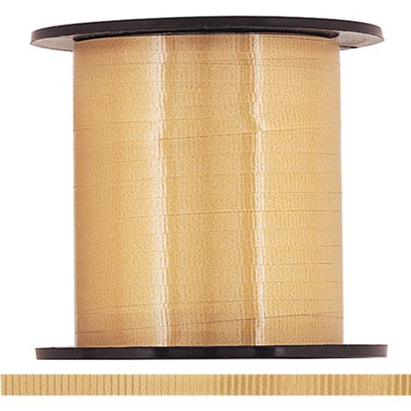 Fun Ribbon - Curling Ribbon, Gold, 500 yd, 1ct