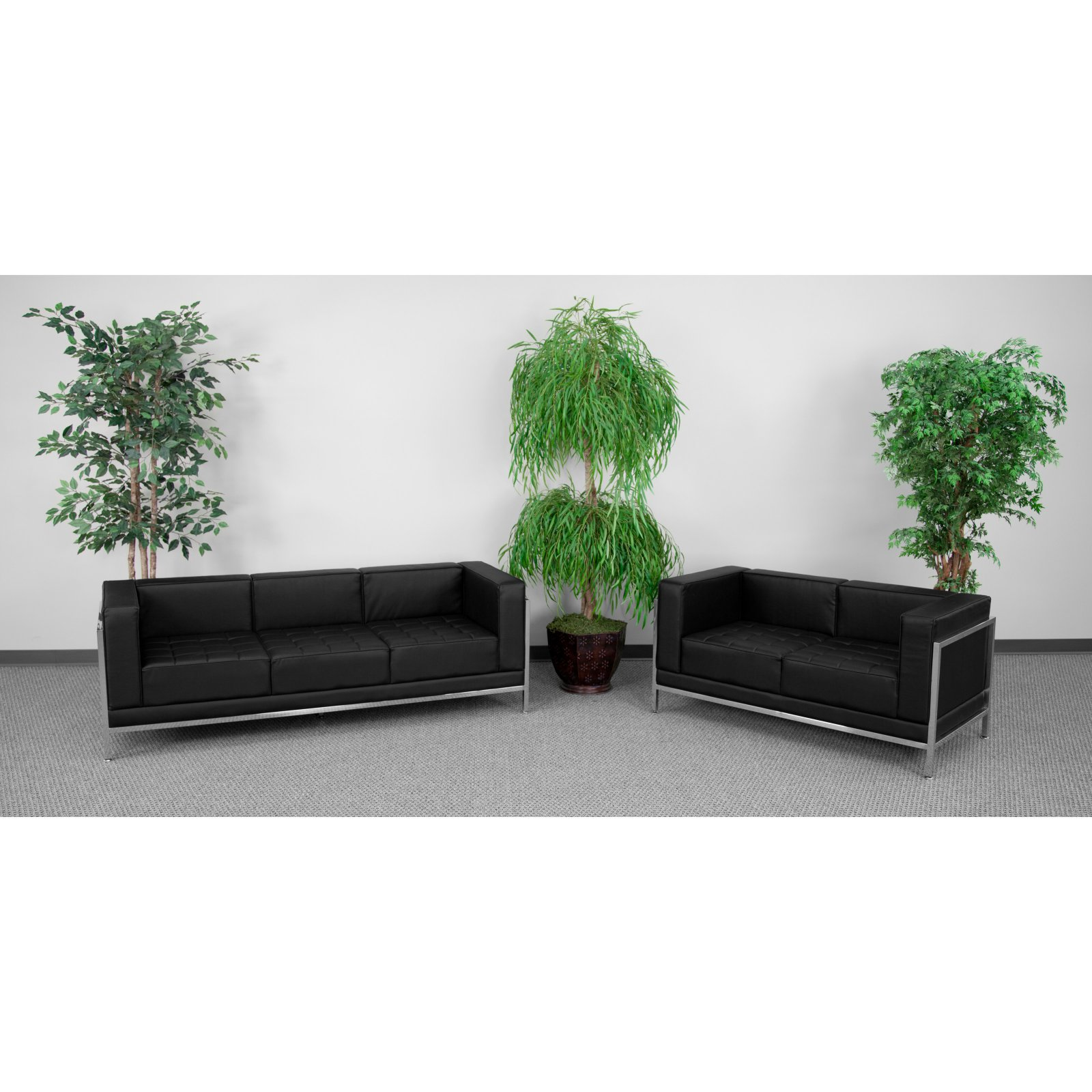 Flash Furniture HERCULES Imagination Series 2 Piece Sofa and Loveseat Set