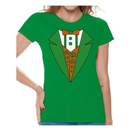 enjoy bottom price new appearance diversified in packaging Awkward Styles - Awkward Styles Irish Tuxedo Tshirt for ...