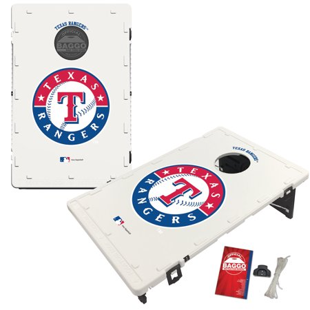 Texas Rangers 2' x 3' Classic Design BAGGO Bean Bag Toss Game - No Size Baggo Bean Bag Game