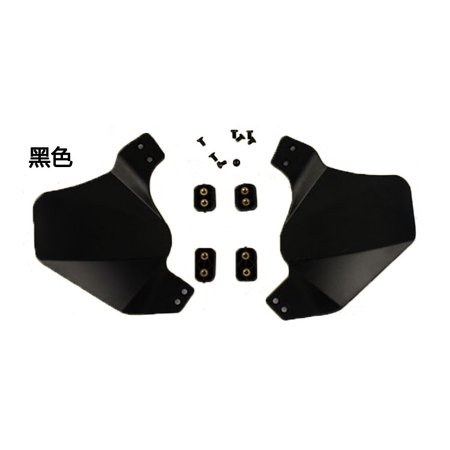 3 Colors Side Protector Ears Covers Protective Gear For Airsoft Painball Tactical  Rail Helmet - image 5 of 5
