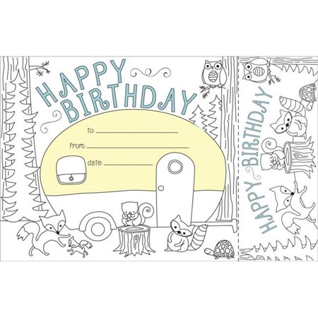 Birthday Bookmarks - Happy Birthday Awards & Bookmarks Set, Pack of 30