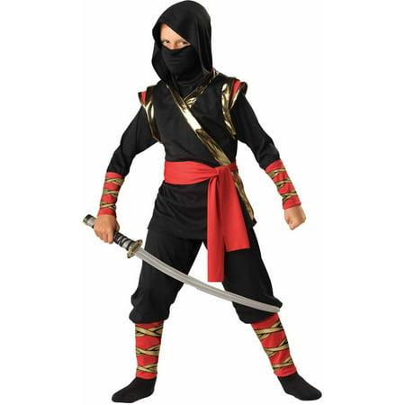 Ninja Boys' Child Halloween Costume](Black Ninja Costumes)