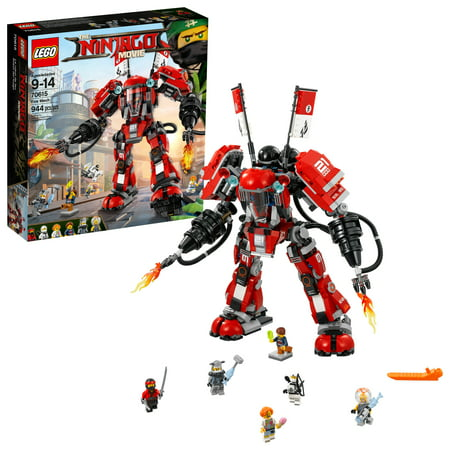 Red Lego Ninja (LEGO Ninjago Movie Fire Mech 70615 Building Set (944)