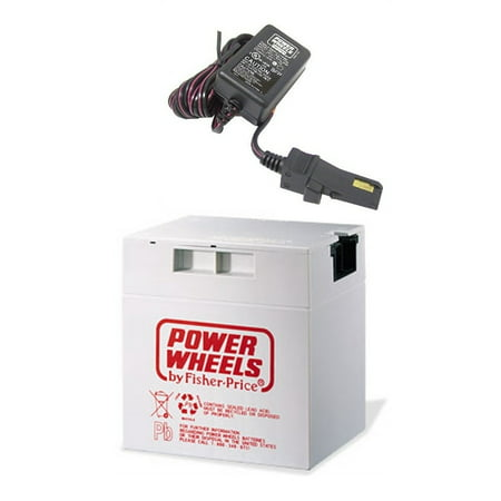 Power Wheels Barbie Jeep 12 Volt Rechargable Battery and Charger
