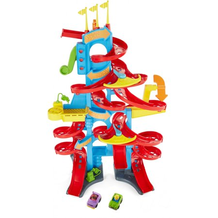 Fisher-Price Little People Take Turns Spiral Speedway