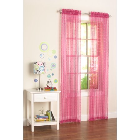 Your Zone Glitz Girls Bedroom Curtains