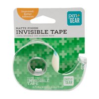 Pen + Gear .75 In. x 1300 In. Invisible Tape with Matte Finish