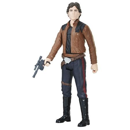 Han Solo Statue (Solo: A Star Wars Story 12-inch Han Solo Figure)