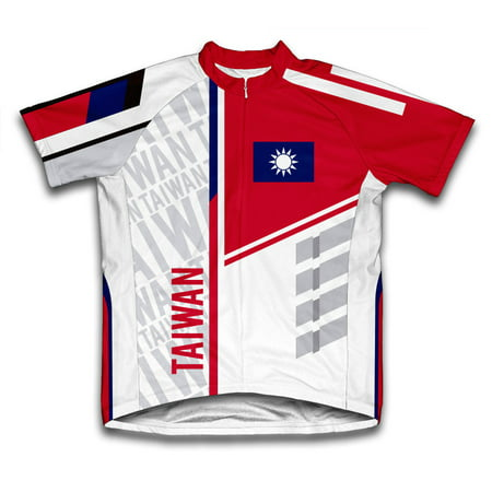 Taiwan ScudoPro Short Sleeve Cycling Jersey  for Men - Size