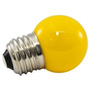 American Lighting LLC 1W Yellow Frosted E17/intermediate LED Light Bulb (Set of 200)