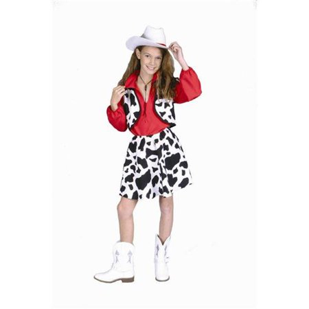 Cowgirl Costume - Size Child-Large - Plus Size Cowgirl