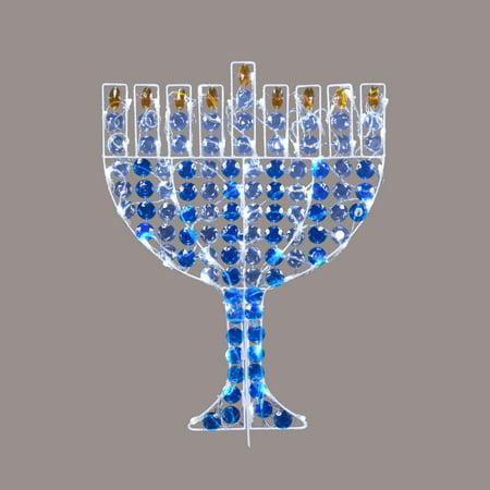 Travel Hanukkah Menorah (24