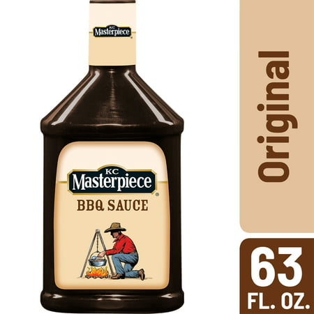 Kc Masterpiece Bbq Sauce (KC Masterpiece Original Barbecue Sauce, 63 oz )