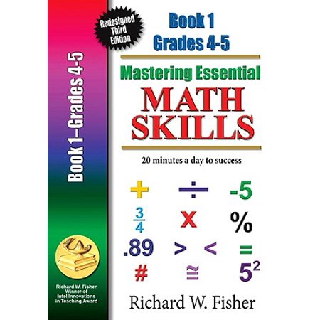Fishers Library Halloween (Mastering Essential Math Skills Book 1 Grades 4-5 : Re-Designed Library)
