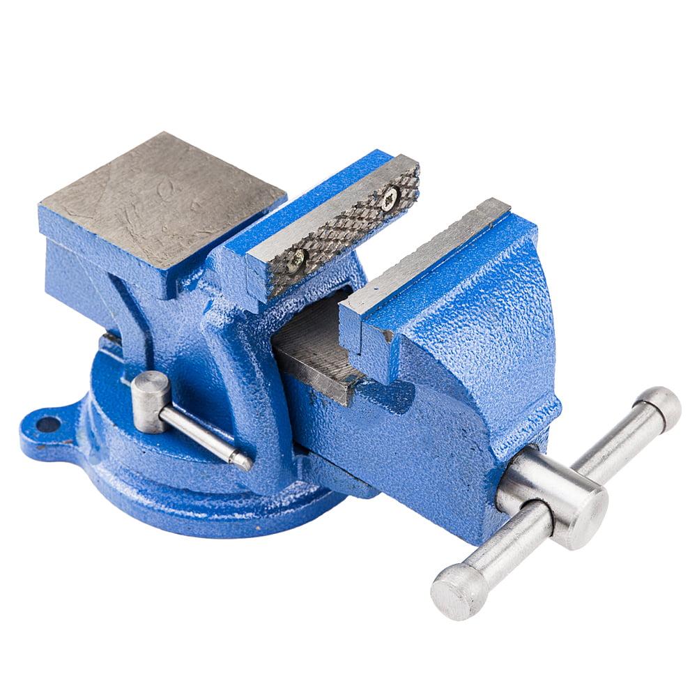 "Zimtown 4"" Mechanic Bench Vise w Anvil (Swivel) Table Top Clamp Press Locking Swivel Base Heavy Duty by"