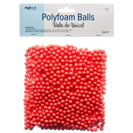 New 381375  Angels Craft Polyfoam Balls Red (12-Pack) School Supplies Cheap Wholesale Discount Bulk Stationery School Supplies - Wholesale Craft Suppliers