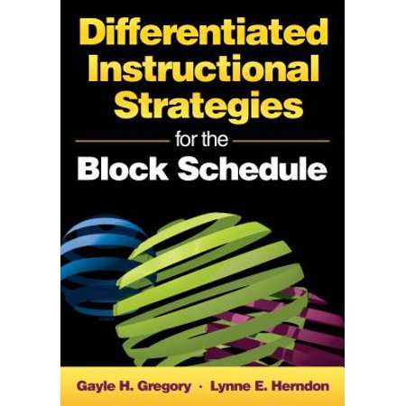 Differentiated Instructional Strategies for the Block Schedule - (Differentiated Instructional Strategies For Science Grades K 8)