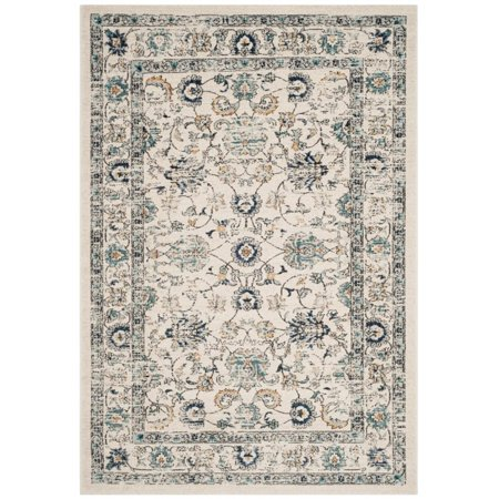 Safavieh Carmel 2' X 8' Power Loomed Rug in Beige and Blue - image 2 de 2