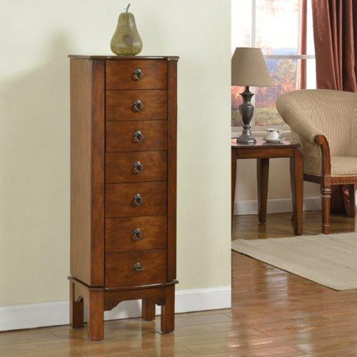7 Drawer Jewelry armoire
