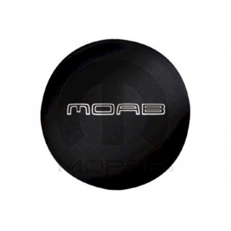 Wrangler Tire Covers (Mopar 82213325 Moab Logo Spare Tire Cover Jeep Wrangler)