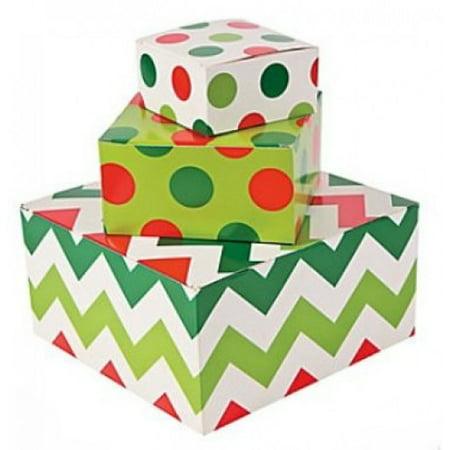12pc Christmas Gift Box Assortment (One Dozen) Green Frog Gift Box