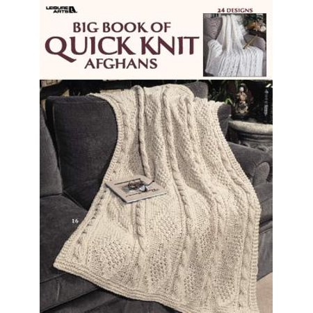 Knitted Baby Afghan (Big Book of Quick Knit Afghans (Leisure Arts #3137))