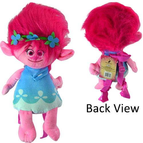 "Trolls 16"" Plush Backpack"