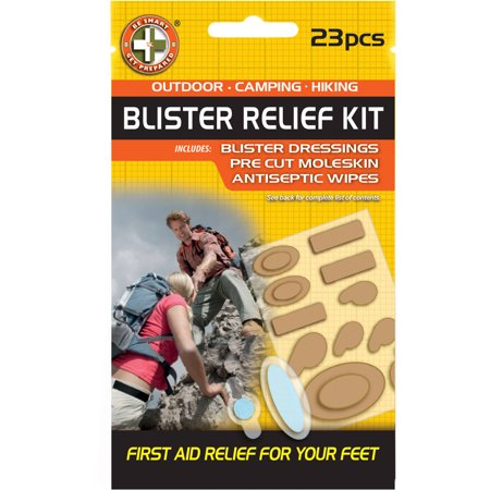 Be Smart Get Prepared Blister Relief Kit, 23-Piece