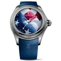 Corum BUBBLE Automatic Blue Dial Unisex Watch