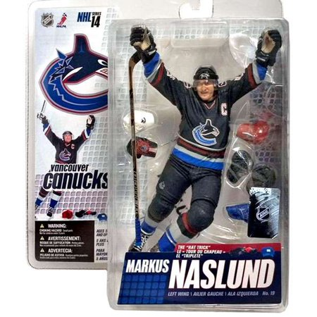 McFarlane NHL Sports Picks Series 14 Markus Naslund Action Figure [Blue Jersey]