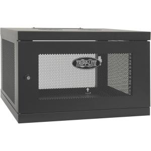 Tripp Lite SRW6UKD SmartRack 6U Low-Profile Switch-Depth Knock-Down Wall-Mount Rack Enclosure Cabinet