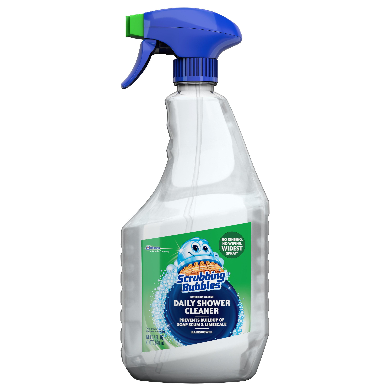 scrubbing bubbles daily shower cleaner 32 oz walmartcom - Best Bathroom Cleaner