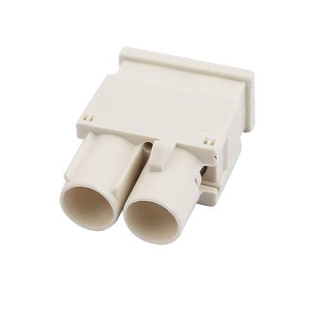 Adaptateur Blanc FAKRA-B 2-male Connecteur 0-6GHz RF pour cable RG174 - image 1 de 2