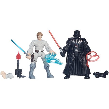 Luke Skywalker Jabbas Palace - Star Wars Hero Mashers Luke Skywalker vs. Darth Vader