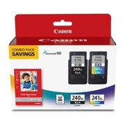Canon PG-240XL / CL-241XL Ink Cartridge Combo Pack with GP-502 Paper