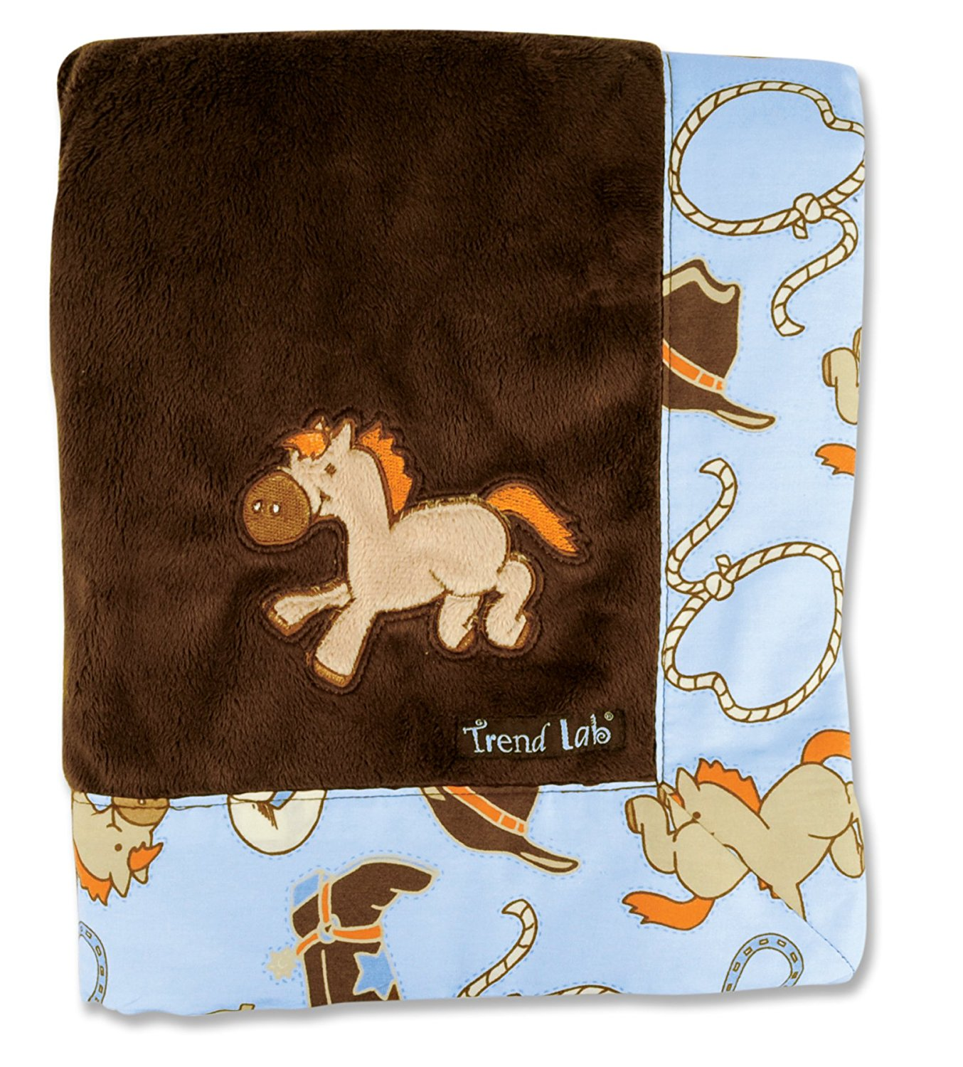 Groovy Love Receiving Blanket (Discontinued by Manufacturer), Cute, retro style receiving blanket for baby... by Trend Lab