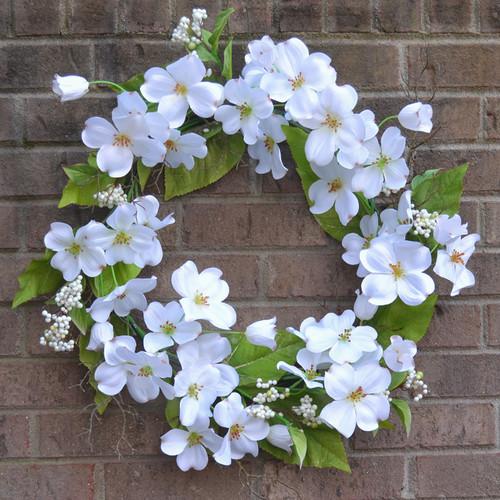 Floral Home Decor 20'' Dogwood Wreath